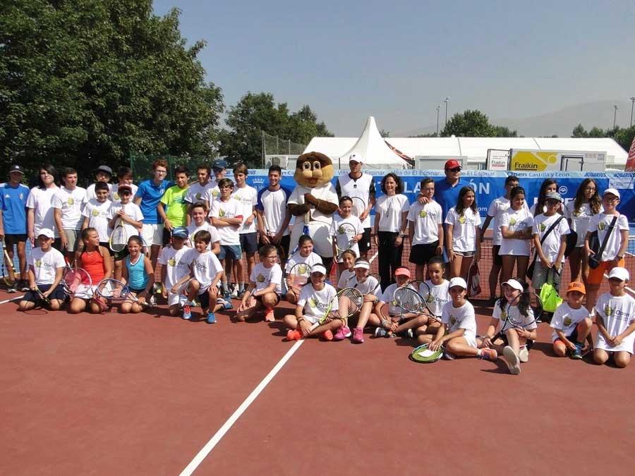 Excursión al torneo de tenis de El Espinar