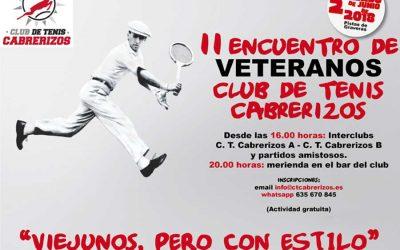 II Encuentro de Veteranos Club de tenis Cabrerizos