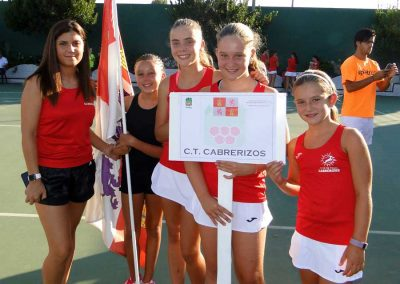 Campeonato de España alevín femenino 2018