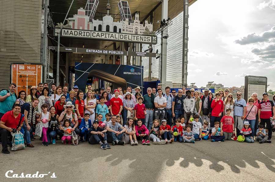 Excursión al torneo Mutua Madrid Open 2019